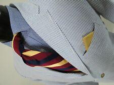 Gorgeous J Crew 100% cotton seersucker summer weight suit Size 42 R