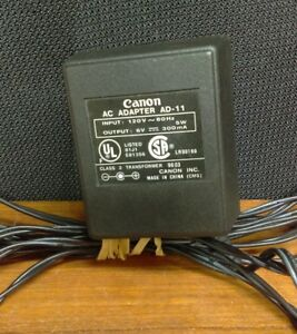 Canon AC Adapter AD-11 POwer Supply Transformer