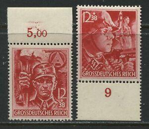 Germany 1945 Semi-Postal set of 2 unmounted mint NH