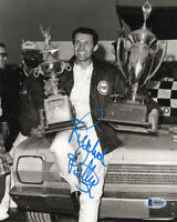 RICHARD PETTY SIGNED AUTOGRAPHED 8x10 PHOTO NASCAR RACING LEGEND BECKETT BAS