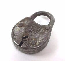 Vtg YALE & TOWNE MFG Junior Jr #451 Pad Lock USA NO KEY Mini Miniature Antique