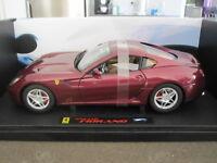 1:18 HOT WHEELS ELITE FERRARI 599 GTB FIORANO BURGUNDY *NEW*