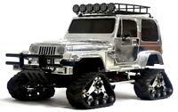 New Tracks set (4pcs) for TAMIYA CC-01 Chassis Snowmobile PAJERO/JEEP/ISUZU MU