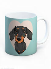 Mug Tea Coffee Cup Cute Dachshund Dog Lovers Novelty Birthday Xmas Gift Present