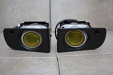 94-01 Acura Integra DC DC2 JDM Yellow Fog Light Kit + Harness + Switch