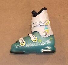 New SALOMON T3 Girly RT Junior Bottes De Ski Taille 22 UK 3