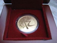 SLOVENIA 2012 100 EURO ORO GOLD FONDO SPECCHIO FS PROOF PP BE MARIBOR CAPITALE