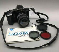 Minolta Maxxum 5000i 35mm SLR WIth Promaster Spectrum 7 70m Lens - G45