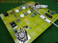 Hi-end Tube Pre-Amplifier Stereo Preamp DIY Kit Hi-Fi Veteran Ver Kondo-M7