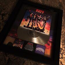 KISS Destroyer Platinum Record Disc Album Music Award MTV RIAA Gene Simmons