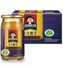 DHL Ship-Quaker Reishi Mythic fungus Herb Drink 桂格活靈芝菌絲體滋補液 (60ml x 72 Bottles)