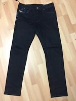 Men Diesel BUSTER STRETCH Denim 0607A DARK BLUE REGULAR SLIM W30 L30 H6 RRP£150