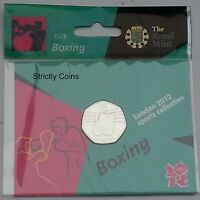 ROYAL MINT 2012 OLYMPIC 50P SPORTS COIN COLLECTION ALBUM FOLDER - Large Album
