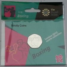 ROYAL MINT 2012 OLYMPIC 50P SPORT MEDAGLIA RACCOLTA ALBUM FOLDER-grandi album