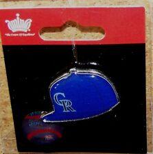 Colorado Rockies CR logo baseball cap pin hat pin NEW for 2015