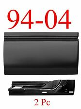 94 04 Chevy S10 2Pc 3rd Door Skin & Inner Bottom Patch, GMC Sonoma,  3 Door