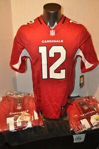 Arizona Cardinals John Brown Men's Nike on-field Red Jersey NFL S-L New W Tags