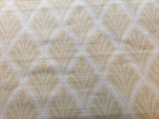 Laura Ashley Florin Pale Gold Curtain Fabric 2.4 metres
