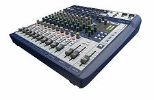 Soundcraft Signature 12, with Gator ABS case 60% off