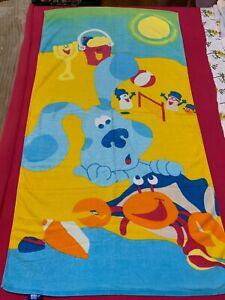 Vintage Blue's Room Beach Towel 1999 HTF EUC