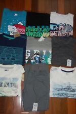 NWT Boys 5-6 HUGE Crazy 8 TCP Jumping Beans Lot of 8 Tops & 1 Pants