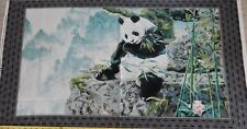 2.6 Yards Cotton Fabric - QT Imperial Panda Scenic Bamboo Panel