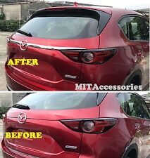 MIT for MAZDA CX-5 2017-ON 2nd Gen Rear trunk garnish molding chrome cover trim