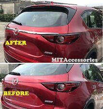MIT for MAZDA CX-5 2017-ON 2nd Gen Rear trunk garnish molding chrome cover trim