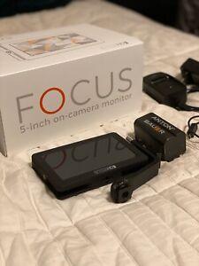 "SmallHD FOCUS 5"" On-Camera Monitor Kit Bundle"