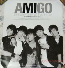 SHINee the 1st Album Amigo Taiwan Promo Poster (JongHyun Jong Hyun)