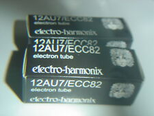 2 Stück 12AU7 Harmonix Röhren Valve Valvole Tubes ( ECC82 ) NEU