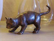 Bronzeskulptur,Katze,Statuen,Gartenfigur,Dekor,Tierfigur,Garten,
