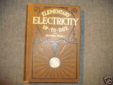 1909, Elementary Electricity Up-To-Date, Alylmer-Small