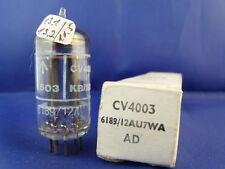 CV4003/12AU7WA/ECC802S Mullard # NIB # 17mm-PLATES # horse-shoe-getter (9457)