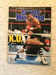 Sports Illustrated Tyson KO Michael Spinks 1988 Minnesota Twins Mr Mint Al Rosen