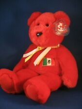 New listing Large 1999 Ty Original Beanie Babies Osito First exclusive with Mexican flag