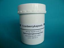 Cranberrykapseln Cranberry 270 vegi Kapseln  Cranberries (14,00€/100 g)