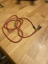Genuine 3.5mm L Shape Audio Cable Cord for Beats by Dr Dre Headphones Aux - RED