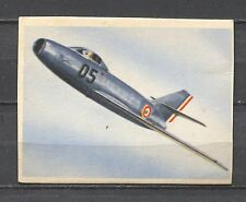 Dassault MD 452 Mystere II Vintage Aircraft Croydon Trading Card 1950's No.150