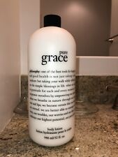 Philosophy Pure Grace Body Lotion 32 oz New/Sealed with Pump