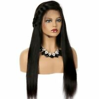 Brazilian Human Hair Wig Straight Lace Front Wig Full Lace Glueless Pre-Plucked