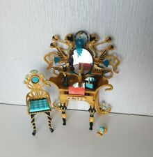 Monster High Cleo De Nile Vanity Dressing Table Chair & accessories