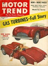 1953 Motor Trend Magazine: Gas Turbines - Full Story/DeSoto/Kaiser/Studebaker