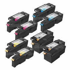 8pk BLACK Color Printer Laser Toner Cartridge for Dell 1350cnw C1760nw C1765nf