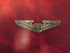 US Navigator Wings Full Size Wings Badge Large V on back with eagle  USA Made