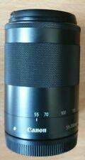 Canon EF-M 55-200mm F4.5-6.3 IS STM Telephoto Lens EOS M M2 M3 M50 M6!!!!