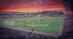 Aberdeen v Bayern Munich 1983 Cup Winners Cup   20'' x 30'' box canvas print