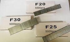 Nail Gun Nails F Series 20 25 30 , 5000pce