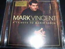 MARK VINCENT A Tribute To Mario Lanza CD – New