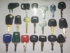 (20) Keys Cat,Volvo,Hitachi,John Deere,JCB, Komatsu,Kobelco,Sany,Liugong,JD